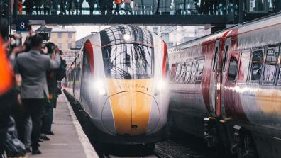 Virgin Azuma trains will accelerate from 0-125mph around a minute quicker than the current fleet (in 4.min 30sec)