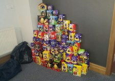 David Lloyd members have been donating their chocolate treats to those less fortunate.