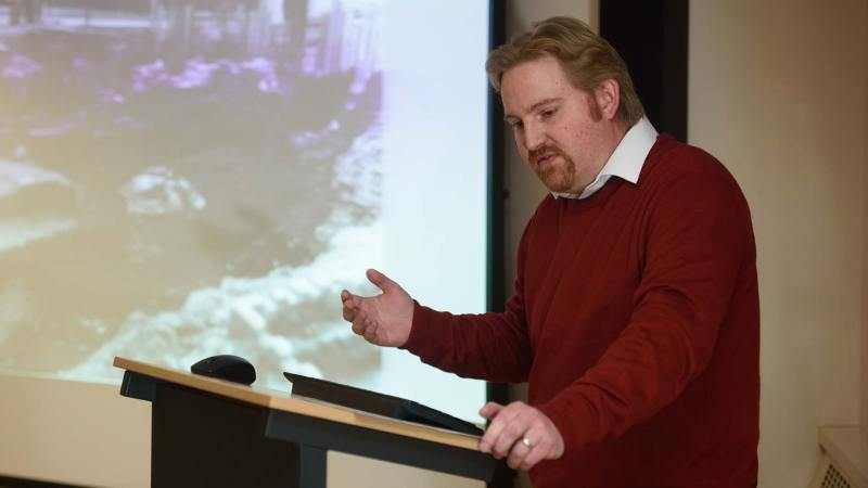 Alastair MacIntosh, city archaeologist at City of Lincoln Council. Photo: Steve Smailes for The Lincolnite