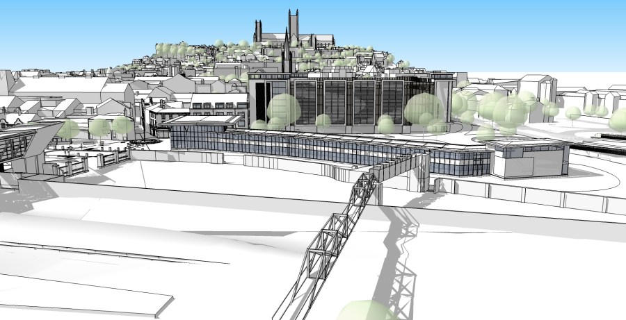 Outline designs for the Lincoln Transport Hub