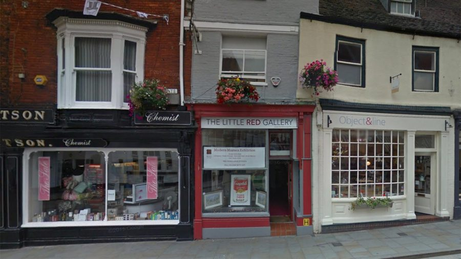 The Little Red Gallery. Photo: Google Street View
