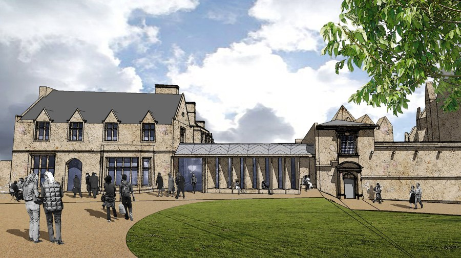 Designs for the new Deanery building. Image: Simpson Brown Architects