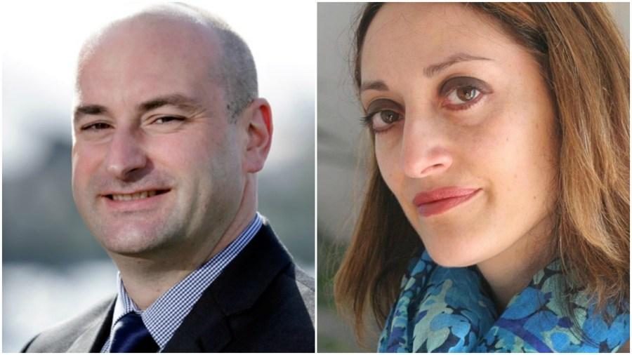 Lincolnshire Police and Crime Commissioner candidates Marc Jones (Conservative) and Lucinda Preston (Labour)