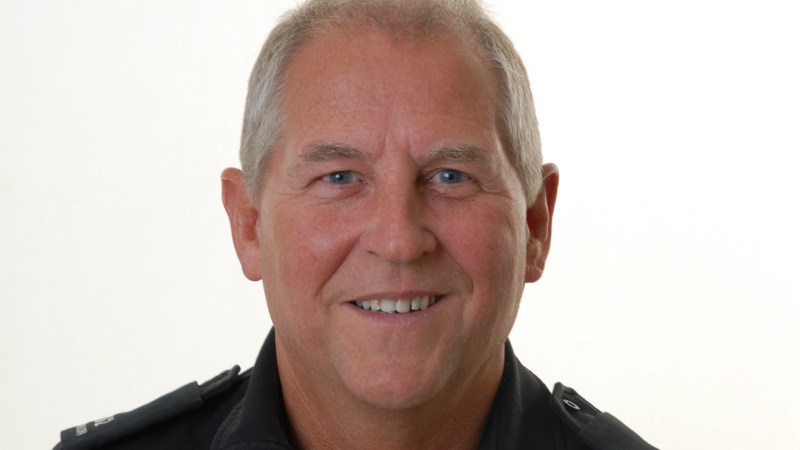 PC Pete Hanson, local community beat manager for Metheringham