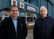 Bill and Graham Rimmer, owners of Rimmer Bros.