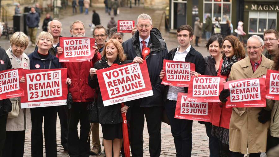 Shadow Foreign Secretary Hilary Benn in Lincoln on May 31. Photo: Steve Smailes for The Lincolnite