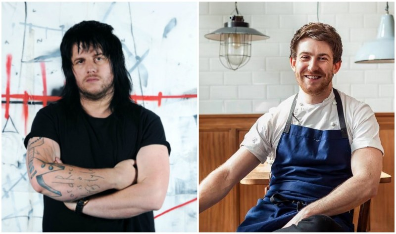 Michael O'Hare (left) will be cooking alongside Le Westcott.
