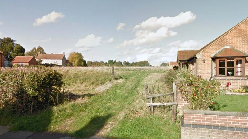 The view to the proposed estate from Barff Road. Photo: Google Street View