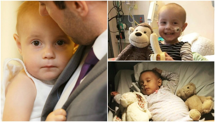 Scarlett suffered from an aggressive, rare form of children's cancer.