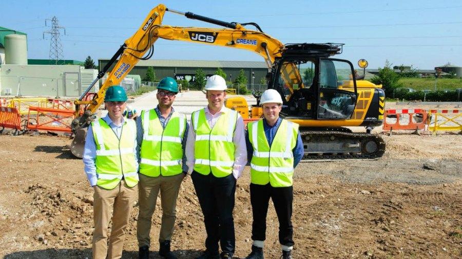 Branston Ltd site expansion project. Photo: Chris Vaughan/Chris Vaughan Photography
