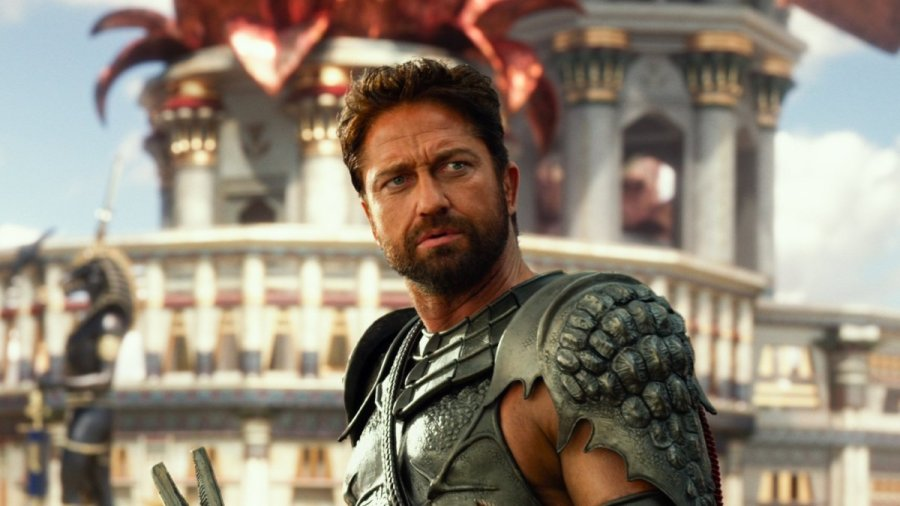 Gerard Butler in Gods of Egypt. Photo by Summit Entertainment.