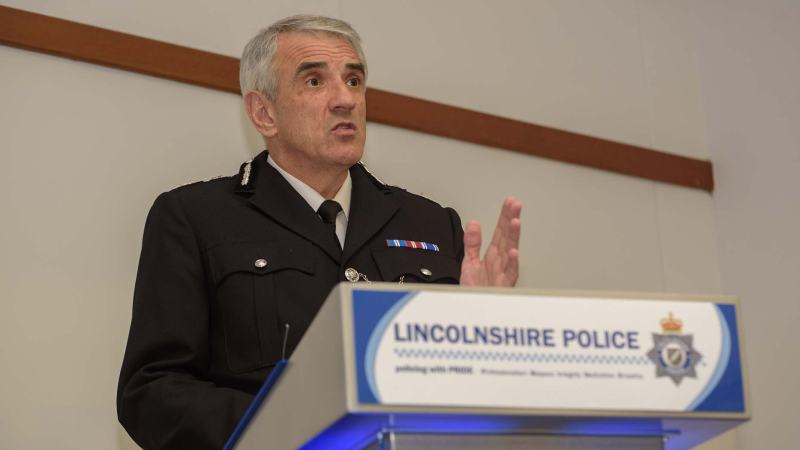 Police Chief Constable Neil Rhodes. Photo: Steve Smailes for The Lincolnite