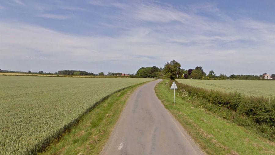 Bratoft Lane near Burgh Le Marsh. Photo: Google Street View
