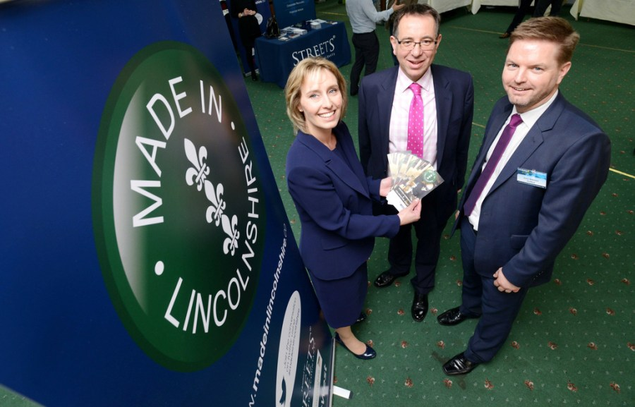 Samantha Harrison, Enterprise Growth Manager at Lincolnshire County Council, James Pinchbeck, Marketing Partner at Streets Chartered accountants and Garry Wilkinson, Senior Relationship Manager at NatWest