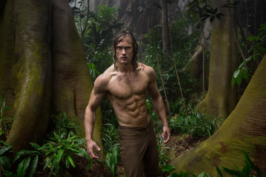 Alexander Skarsgard in The Legend of Tarzan. Photo by Warner Bros. Entertainment.