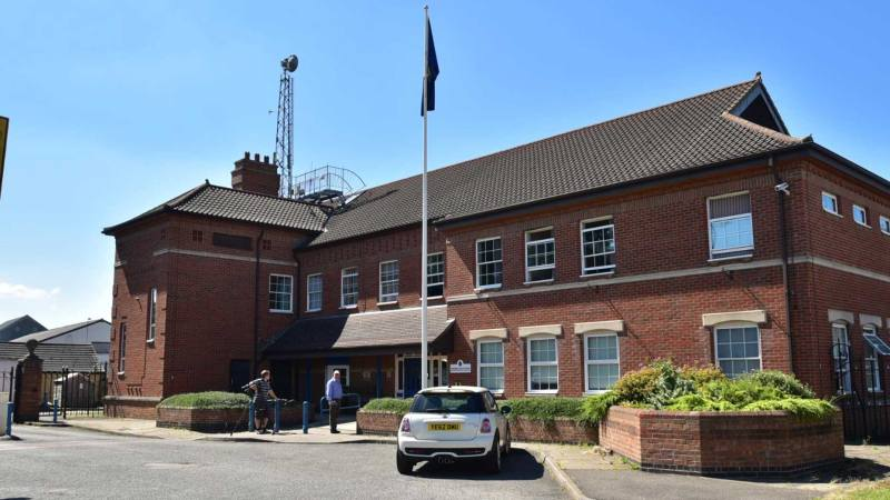 Spalding Police Station. Photo: Steve Smailes for The Lincolnite