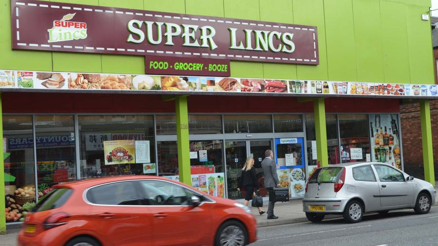 The Super Lincs supermarket on Lincoln High Street. Photo: The Lincolnite