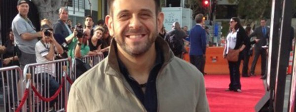 Man vs Food presenter Adam Richman. Photo: BG Colby