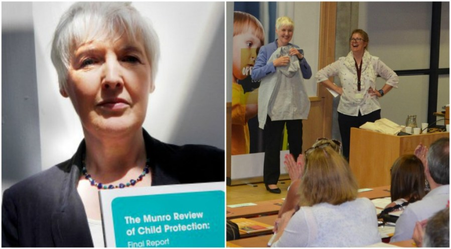Eileen Munro was the key speaker at a social work conference held in Lincoln. Images: Community Care and The Lincolnite