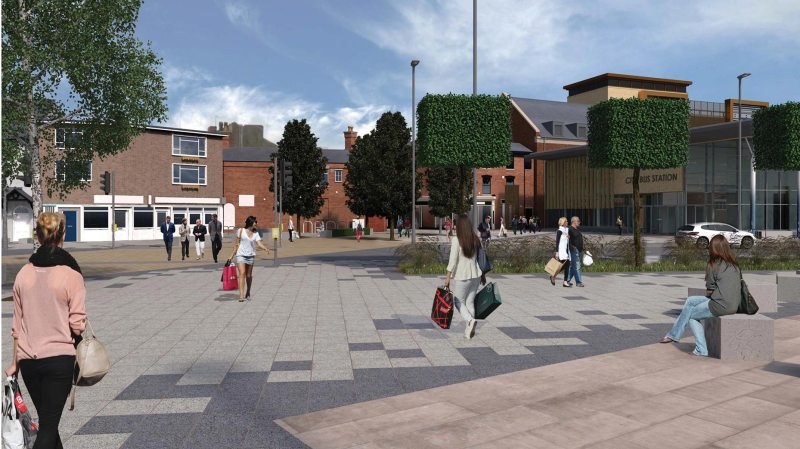 Designs for the new Lincoln Transport Hub. Image: CoLC