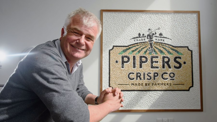 Alex Albone, founder of Pipers Crisps