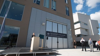 The expanded Engineering hub is on the site of the former University of Lincoln campus. Photo: Steve Smailes for The Lincolnite