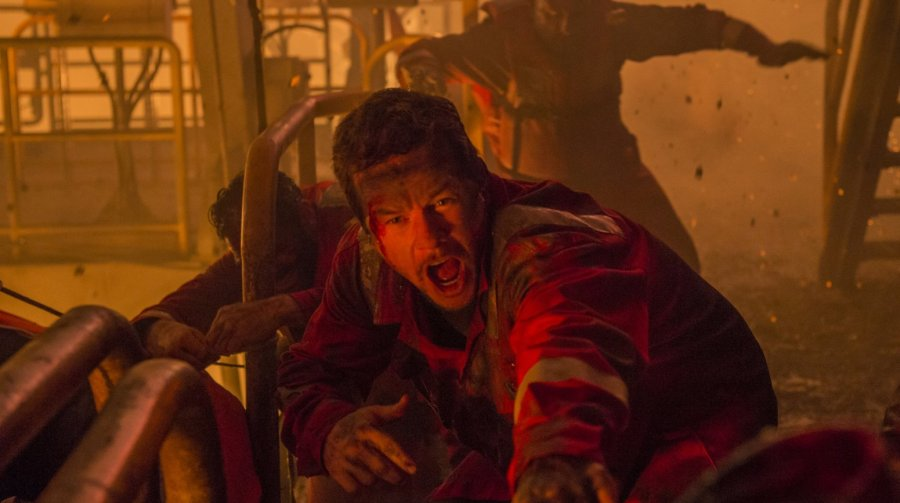 Mark Wahlberg in Deepwater Horizon. Photo by Lionsgate.