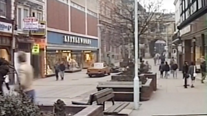 High Street looks completely different, now with a Primark in the place of Littlewoods.