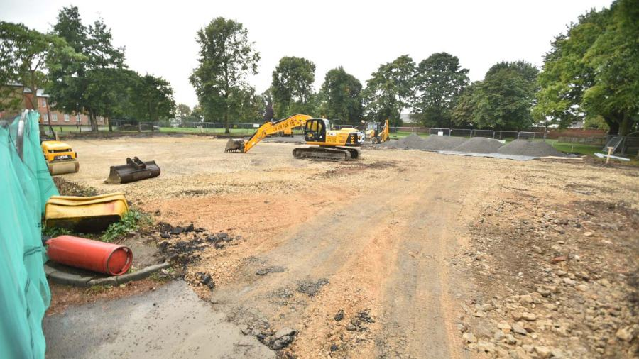 Bones Found During Lawn Revamp Works In Lincoln