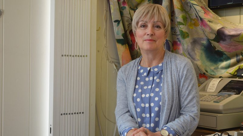 Viv Barlow, Look shop owner on Bailgate in Lincoln. Photo: The Lincolnite