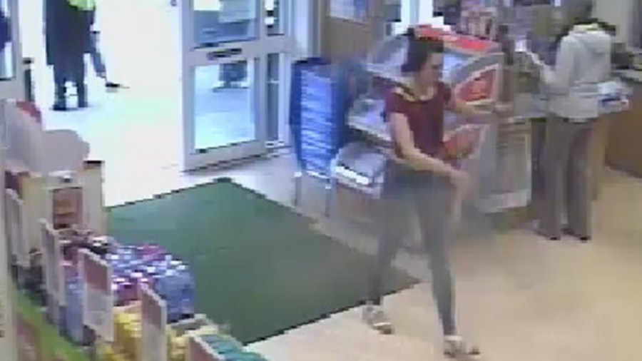 Police believe that the woman pictured may be able to help with their investigation