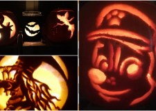 What designs will you be carving onto your pumpkins this year?