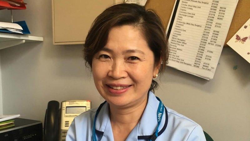 Dementia practitioner, Jenny Meng.