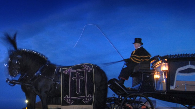 The event will also see a Victorian funeral performed twice a night.