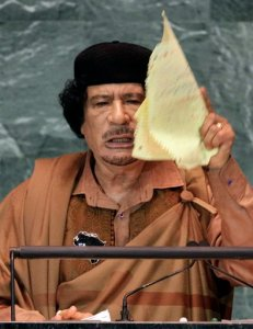 Outspoken Libyan discloses love of sloppy joes!