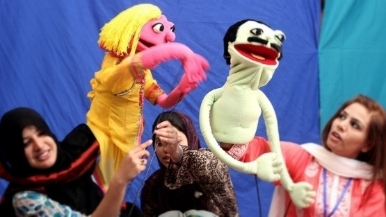 Hands-on Puppetry Workshop with Caregivers, Psychologists & Teachers
