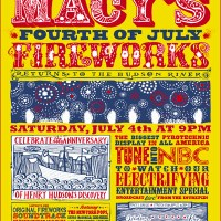 Inkymole's 4th July Fireworks Poster Campaign for Macy's