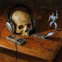 David Cahill - vanitas, memento mori, skulls-n-stuff...