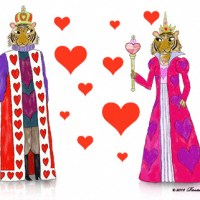 Rosalind Lord - Tiger King and Queen of Hearts