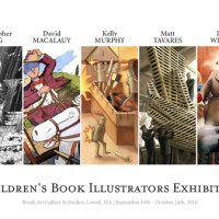 Award Winning Children's Book Illustrators Exhibition