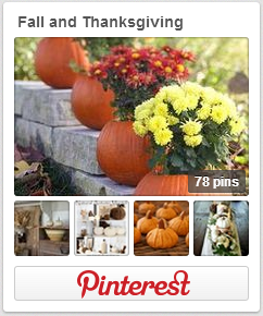 Fall and Thanksgiving Pinterest Board