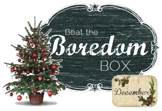 Beat the Boredom Box December from thelittledabbler