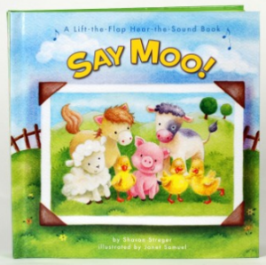 Say Moo! by Sharon Streger