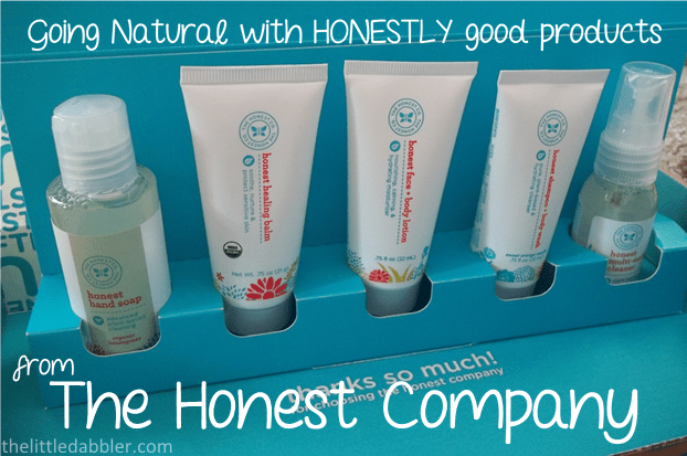 Going Natural with Honestly good products from The Honest Company  ||  thelittledabbler.com