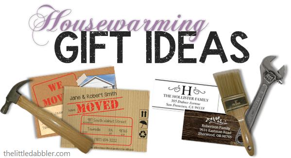 Housewarming Gift Ideas from thelittledabbler