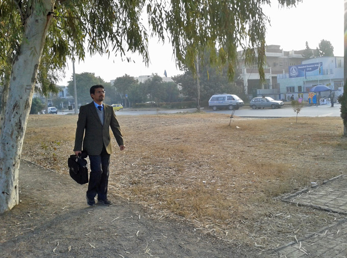 Walking in Islamabad