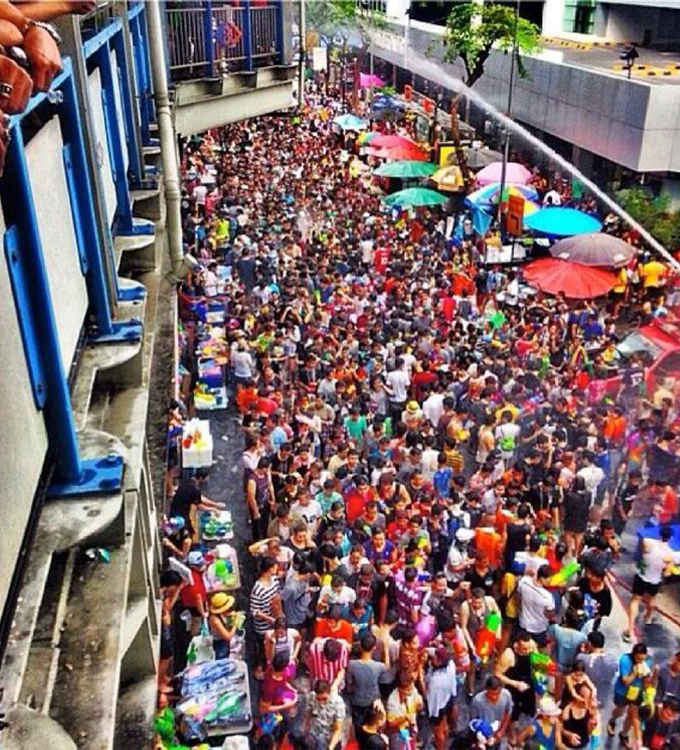 Songkran Festival – it's impossible to stay dry