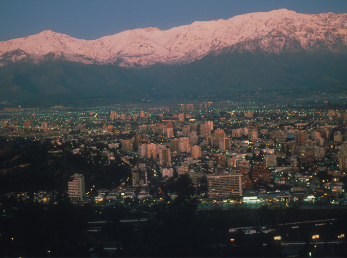 Back in Santiago
