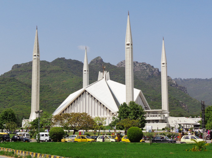 Finding Serenity in  Faisal Mosque