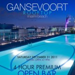 New Years Eve @ Rooftop At The Gansevoort
